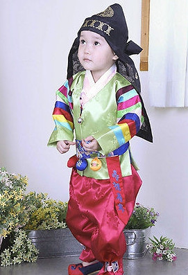 Asian Fashion online Korean Hanboks for Little Boys