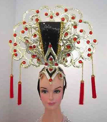 China Empress Head Wear Hair Vines Hair Clamps Hair Jewels Hair Bows Hair Sticks Hairclips