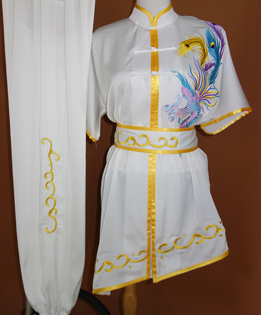 White Martial Arts Uniforms Complete Set