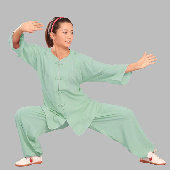 Top Tencel Kung Fu Uniform Complete Set for Adults or Kids