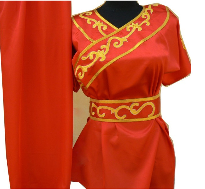 Top Short Sleeves Wu Shu Suit