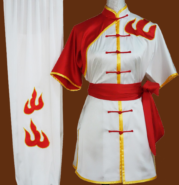 Supreme Fire Embroidery Martial Arts Championship Uniform
