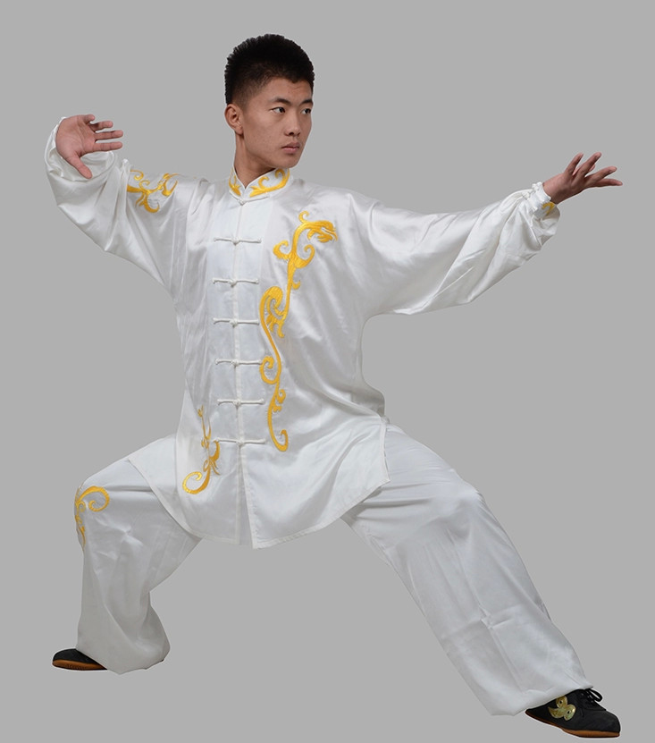Long Sleeves Kung Fu Uniforms Complete Set