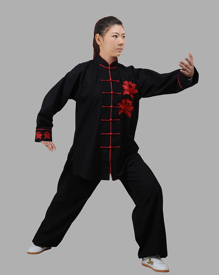 Kung Fu Uniform Hapkido Wooden Dummy Marshal Arts Complete Set