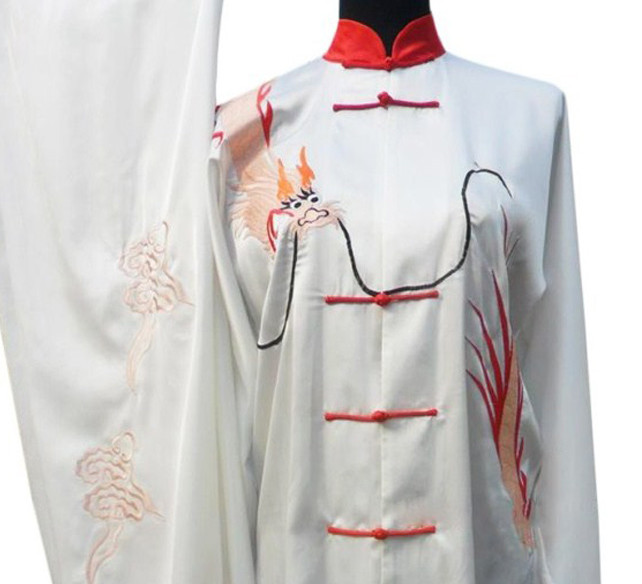 Top Dragon Embroidery Tai Chi Championship Uniform
