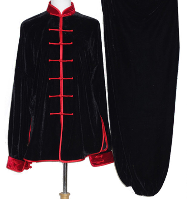 Long Sleeves Warm Velvet Taiji Clothing