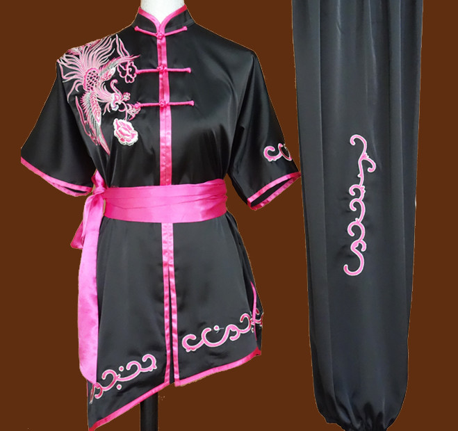 Tradtiional Martial Arts Phoenix  Embroidery Championshiop Winner Suit