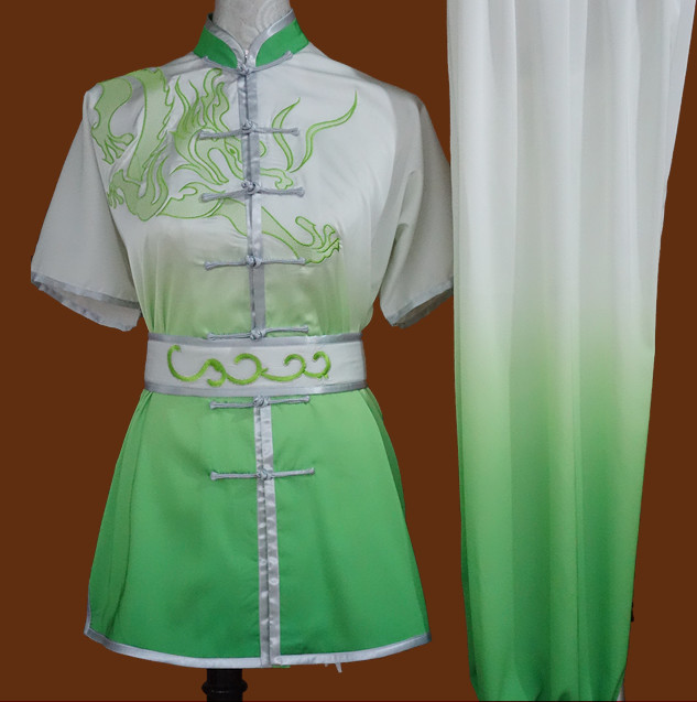 Tradtiional Martial Arts Embroidered Championshiop Winner Suit