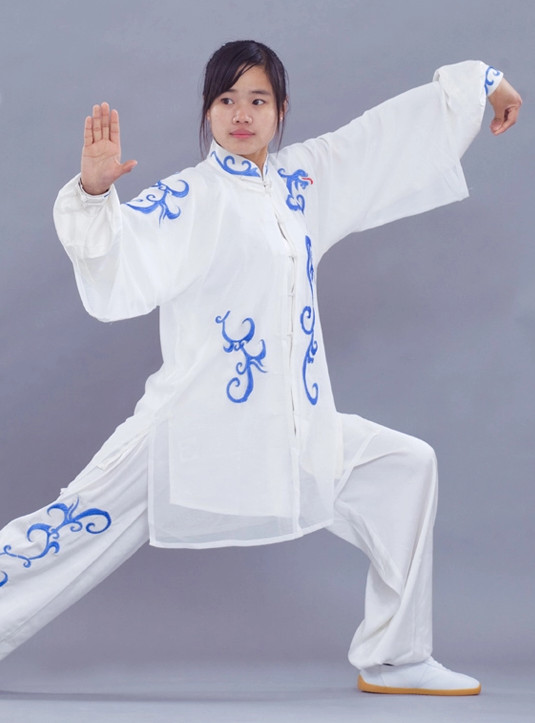 Tradtiional Martial Arts Embroidered Championshiop Winner Suit and Cloak