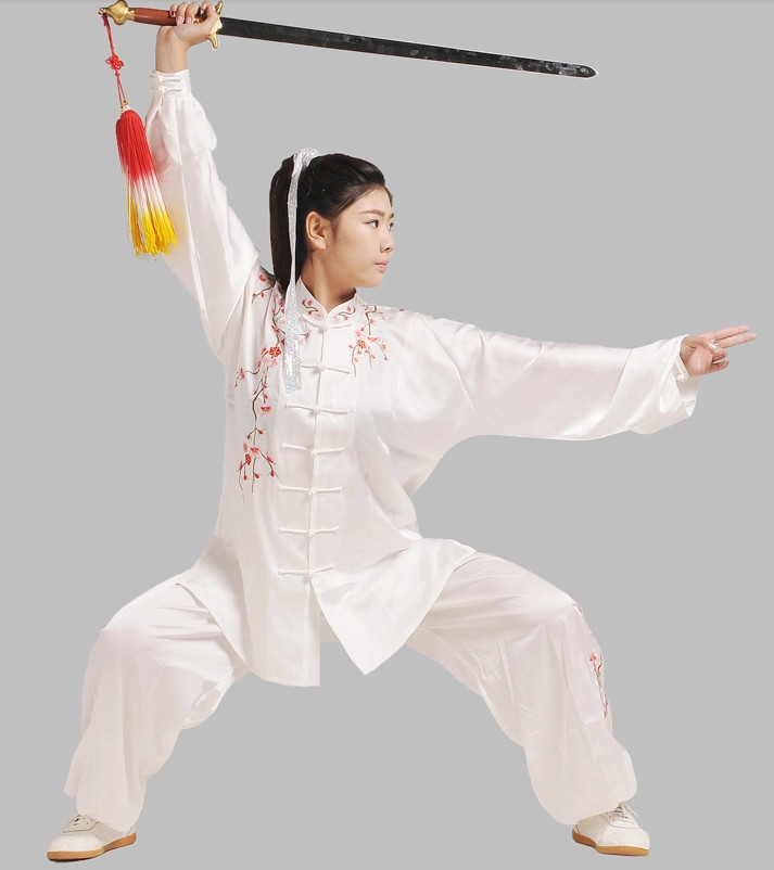 China White Tai Chi Chuan Tai Chi Pants Tai Chi Blouse Outfit