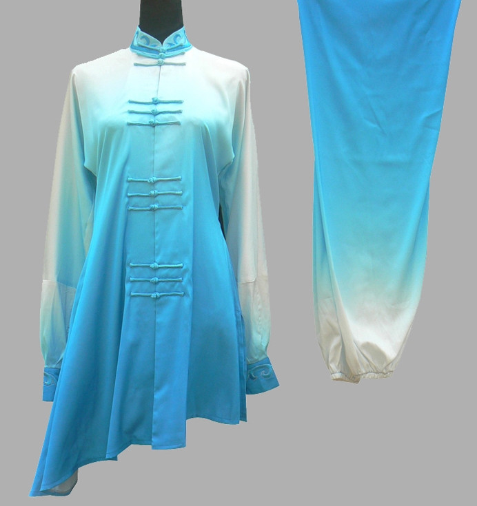 Top Color Changing Tai Ji Competition Championship Suit