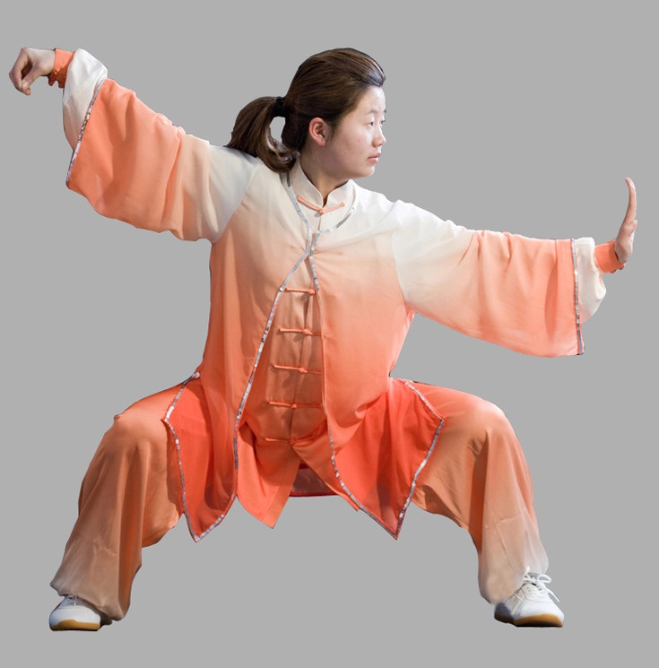 Supreme Color Change Professional Tai Chi Championship Clothes for Women