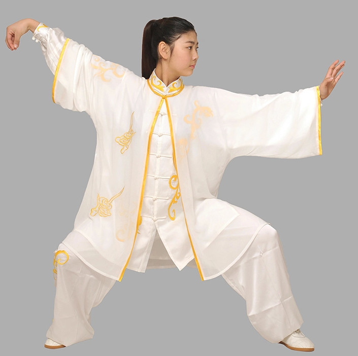 Chinese Traditional Embroidered Kung Fu Uniform