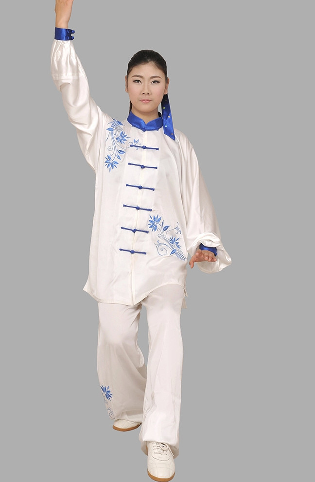 Chinese Traditional Embroidered Kung Fu Uniforms