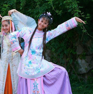 China Princess Dress Carnival Costumes Dance Costumes Traditional Costumes