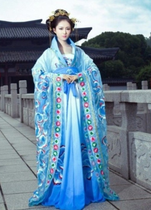 China Empress Costumes Carnival Costumes Dance Costumes Traditional Costumes