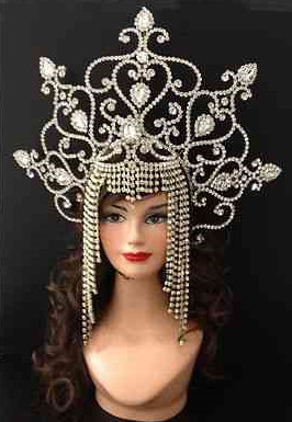 Professional Palace Queen Hair Vines Hair Clamps Hair Jewels Hair Bows Hair Sticks Hairclips