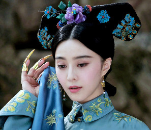Peachy Qing Dynasty Empress Imperial Hair Accessories Manchu Hat And Wig Short Hairstyles Gunalazisus