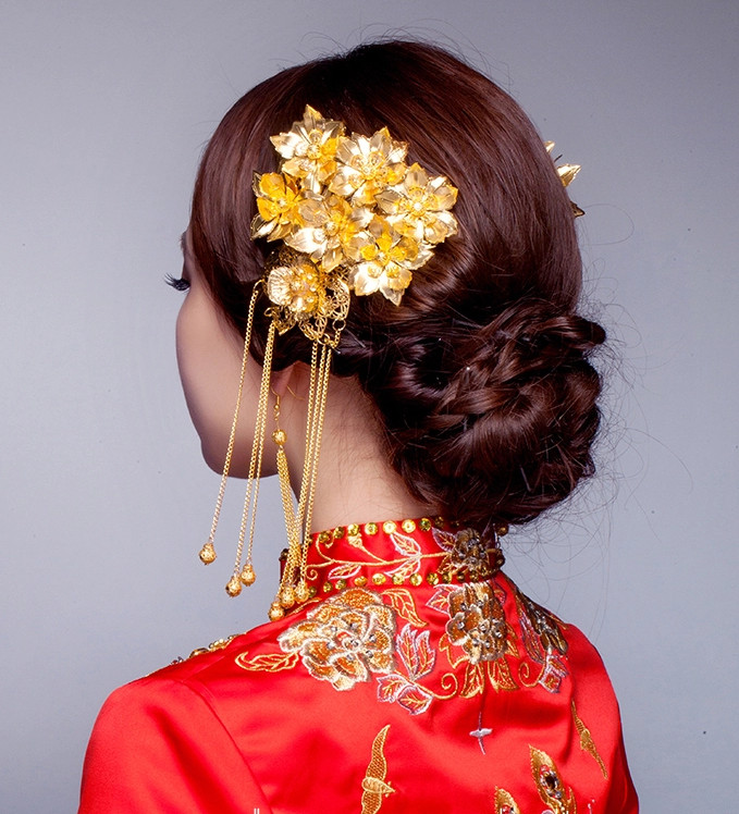 China Classical Handmade Bridal Hair Accessories