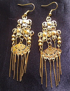 Chinese Classical Earrings for Girls