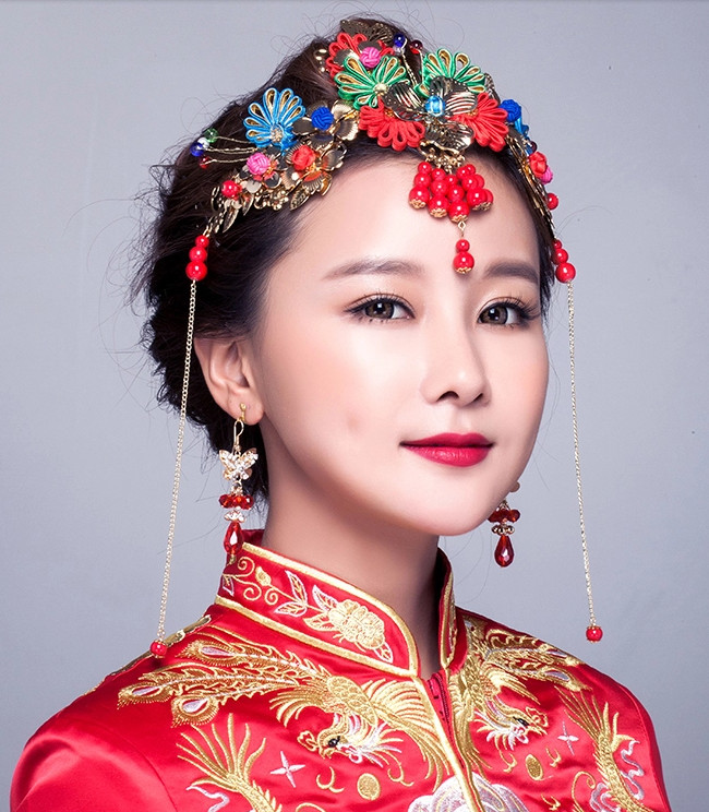Chinese Bridal Headpieces
