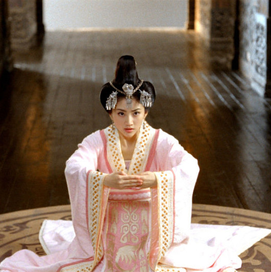 Chinese Ancient Empress Costumes and Hair Jewellry Complete Set