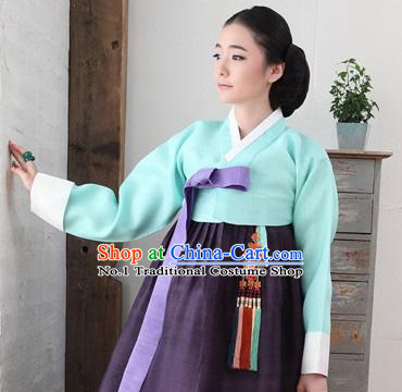 Asian Korean Hanbok Dresses for Women