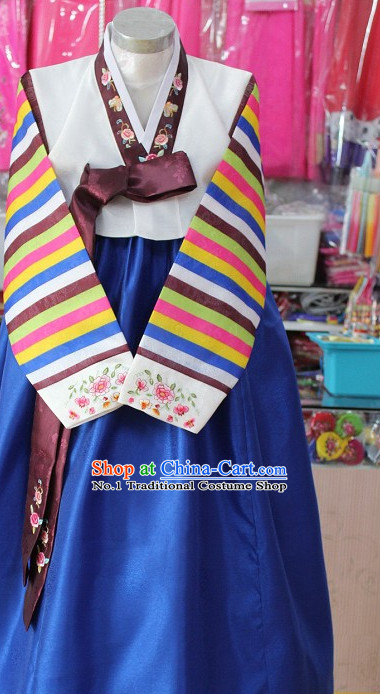 Traditional Korean Apparel Tops Skirt Clothes for Women