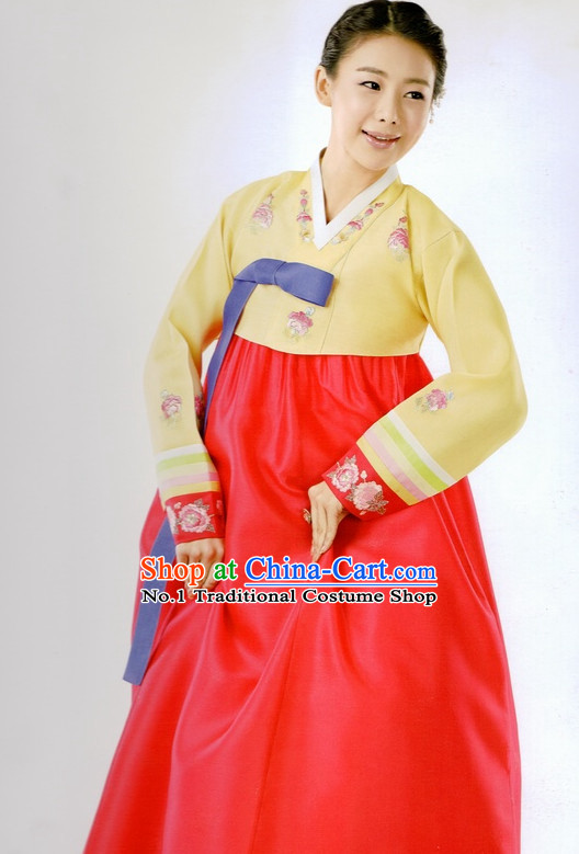 Korean Traditional Clothes for Ladies