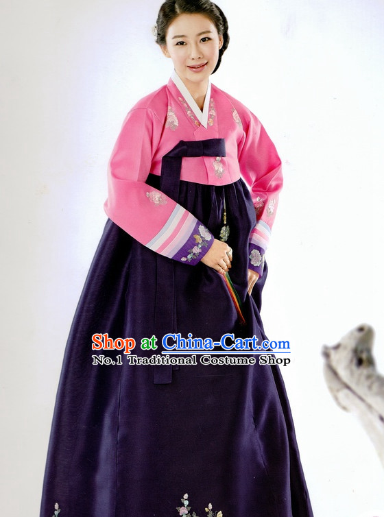 Korean Traditional Dress Ceremonial Hanbok for Women