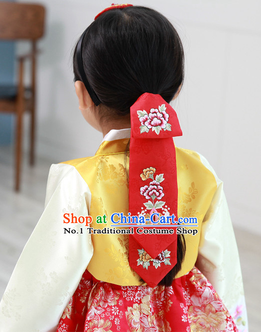 Korean Traditional Hanbok Hair Cloth