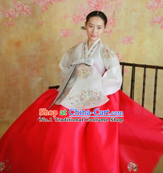 Dangui Korean Royal Costume Traditional Korean Ceremony Costume for Women