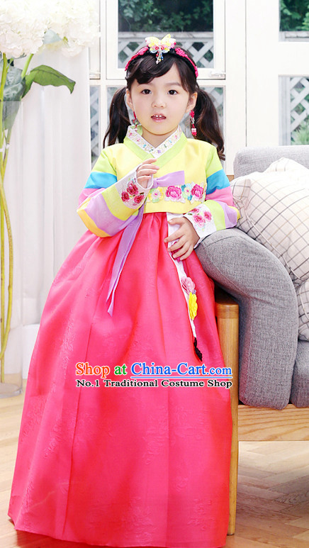 Korean Traditional Dress Hanbok for Girls