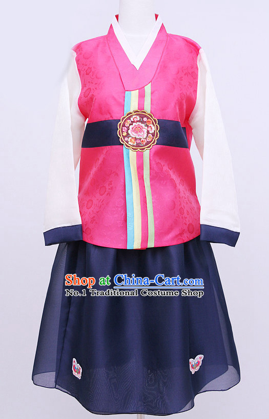 Korean Traditional Dress Hanboks for Children
