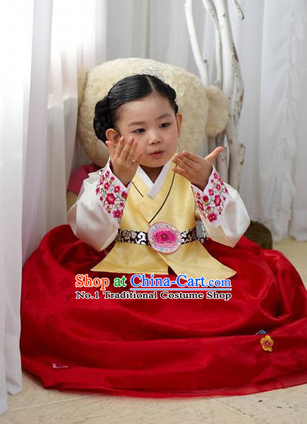 Korean Fashion Traditional Hanboks for Girls
