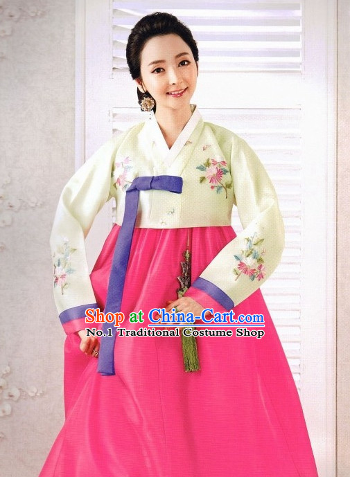 Korean Fashion Traditional Hanbok Dresses for Women