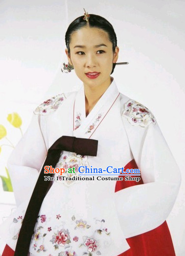 Korean Traditional Dangui Hanboks for Women