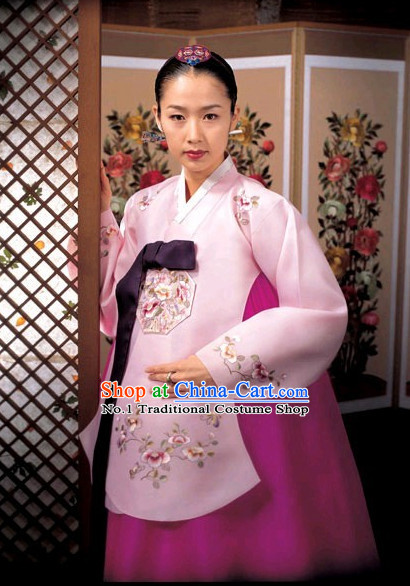 Korean Traditional Dangui Hanbok for Women