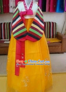 Korean Traditional Female Dancing Hanbok Clothes