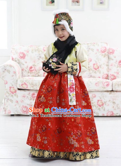 Korean clothing women hanbok Dangui chima hair accessory norigae petticoat
