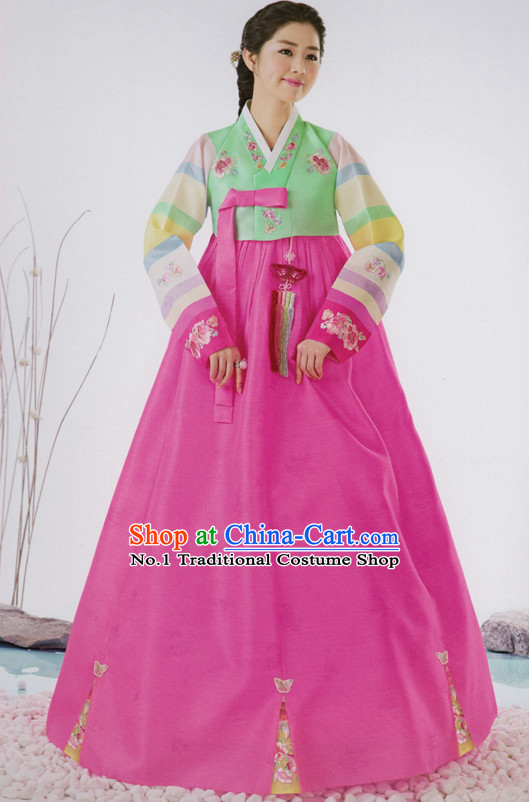 Korean Traditional Clothing Custom Made Women Dangwi Hanbok Ceremony Birthday Party Halloween