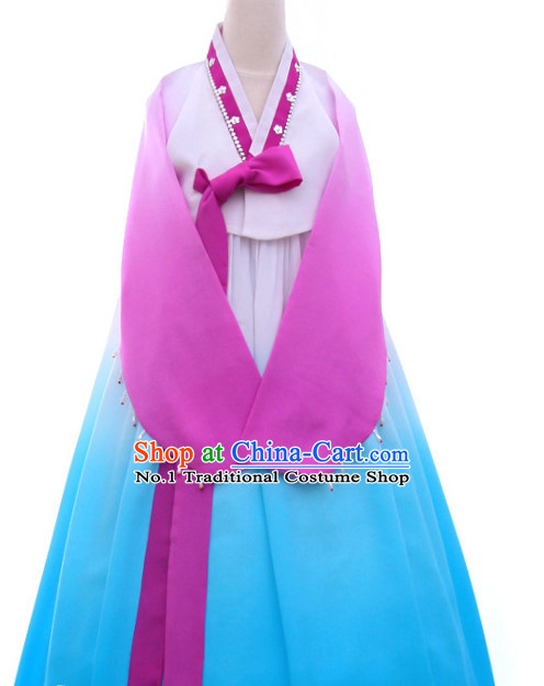 Korean Custom Made Dance Costumes