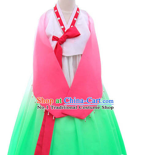 Korean Folk Dance Costumes for Women
