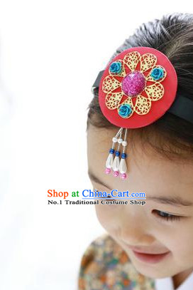 Korean Traditional Kids Hanbok Hair Accessory