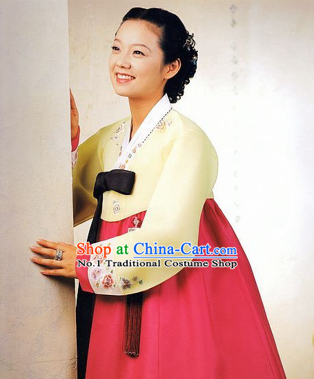 Korean Traditional Wedding Dress Asian Fashion Korean Dangui Outfits Shopping online