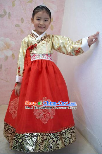 Korean Traditional Hanbok Dress Ceremonial Clothing Korean Fashion Shopping online for Children