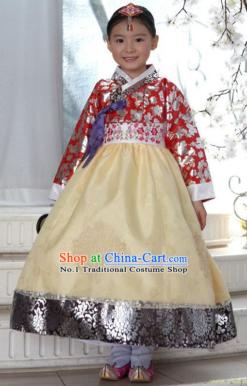 Korean Traditional Princess Hanbok Dress Ceremonial Clothing Korean Fashion Shopping online
