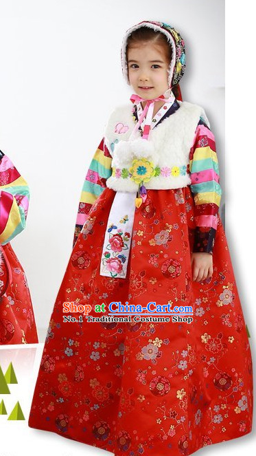 Korean Hanbok Clothing online for Kids Girls