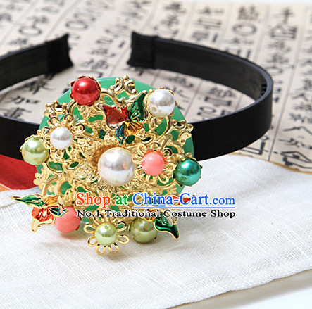 Korean Traditional Hair Accessories Hair Ties Hair Jewelry Fascinators Fascinator for Girls