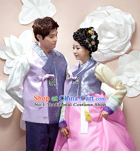 Top Korean Bridal Clothing Asian Fashion online Clothes Shopping National Costume for Couple